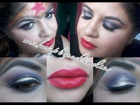 Maquillaje De Mujeres Superheroes/ Colaborativo/ La Mujer Maravilla /Makeup By Esolindia