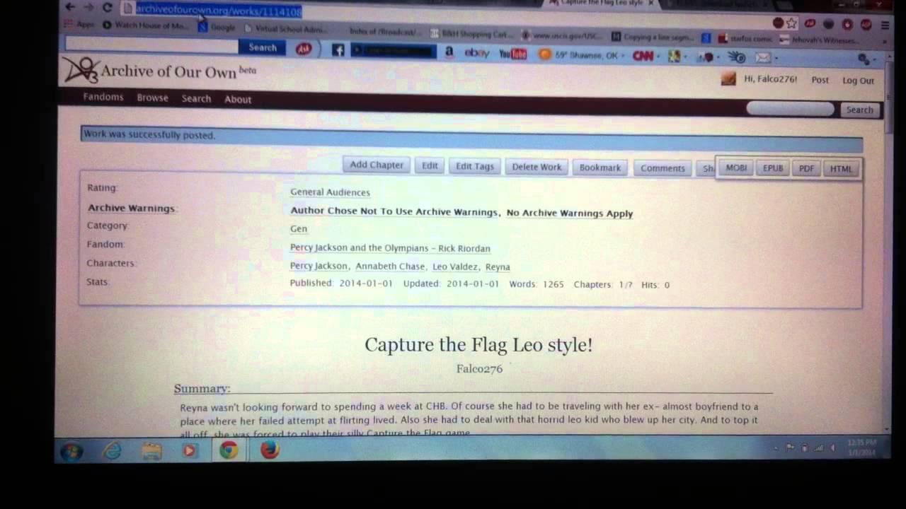 Fanfiction downloader html