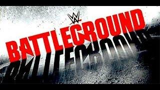 WWE BATTELGROUND 2015 تحليل