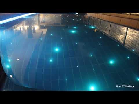Swimming Pool Fiber Optic Lighting Youtube