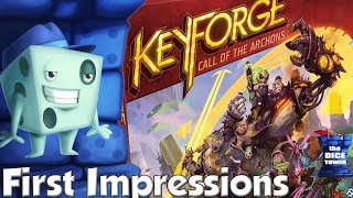 KeyForge First Impressions - with Tom Vasel