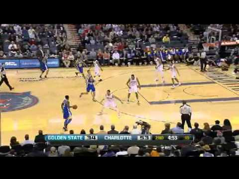 Bobcats Beat Warriors (Kemba Walker's First Start & 23pts)