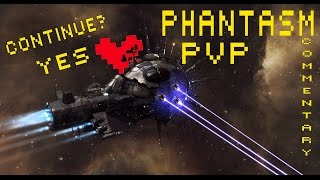 EvE: Phantasm, Solo PvP with comments, с комментариями (ENG subs)