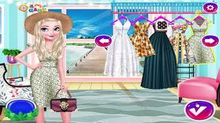 Game giáo dục - Game thời trang Elsa bốn mùa