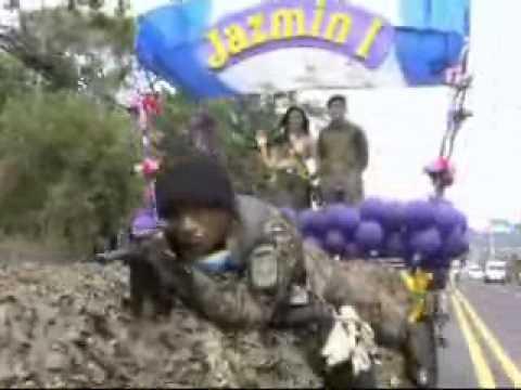 05 AGOSTO 2013 DESFILE MILITAR CARROZAS   FUERZA ARMADA DE EL SALVADOR