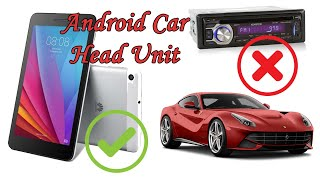How to install an android tablet as a stereo in your car