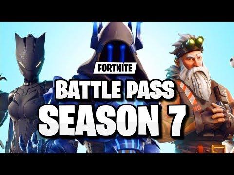 Official Fortnite Season 7 Battle Pass Skins Leaked Fortnite