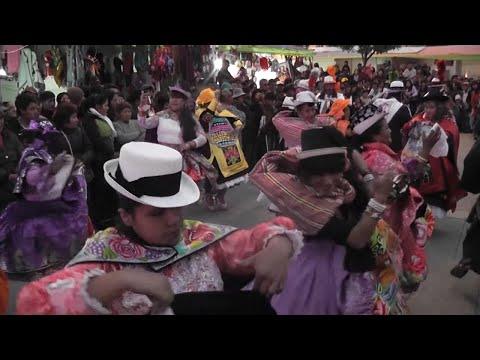 TUNANTADA EN PLAZA HUAMANMARCA DE HUANCAYO - TUNANTES POR SIEMPRE