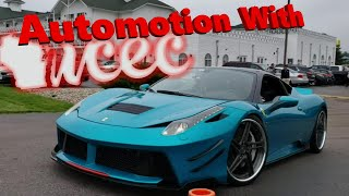 Working With WCEC at Automotion, Wisconsin Car Enthusiast Club