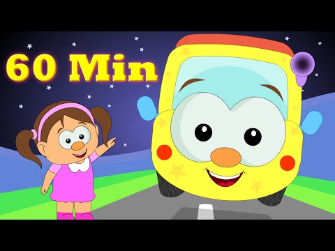 Wheels On The Bus | Plus Lots More Popular Nursery Rhymes Collection For Babies From Hooplakidztv video