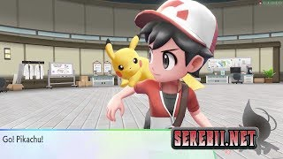First Rival Battle - Exclusive Pokémon Let's Go, Pikachu Footage