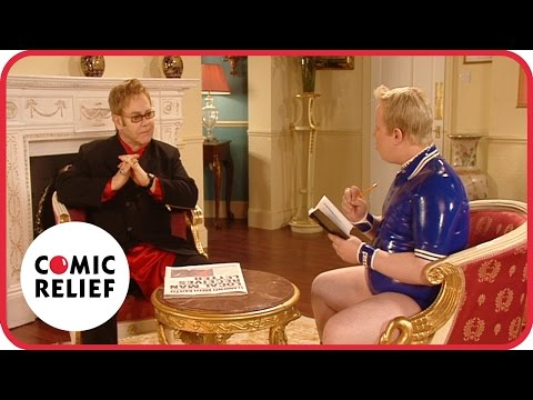 Little Britain meet Elton John - Classic Comic Relief