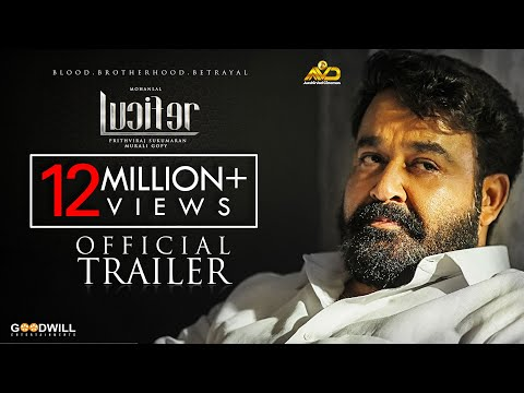 Lucifer Official Trailer | Mohanlal | Prithviraj Sukumaran | Antony Perumbavoor | Murali Gopy thumbnail