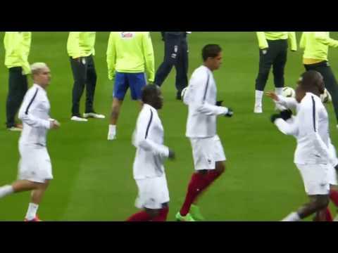 Kaim Benzema ● Antoine Griezmann ● Raphael Varane ● Mamadou Sakho