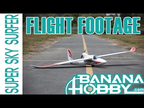 Super Sky Surfer BlitzRCWorks | Flight Footage | Sailplane & Glider