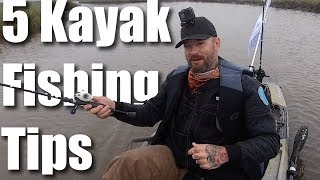 5 Kayak Fishing Tips for Beginners.... From a beginner!