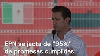 EPN se jacta de 95% de promesas cumplidas - En Punto con Denise Maerker