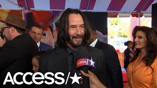 Keanu Reeves Has The Best Reaction To Being Named 'America's Sweetheart' | Access
