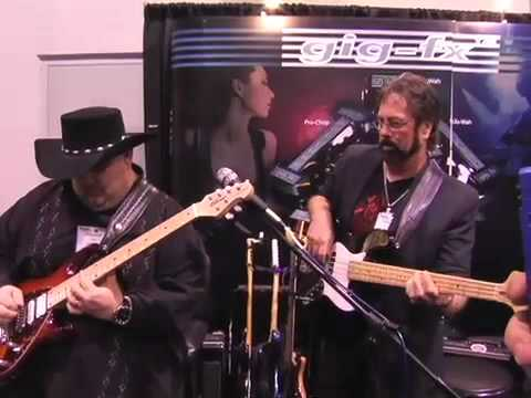 Johnny Hiland Chicken Pickin' at the Gig-FX Booth NAMM
