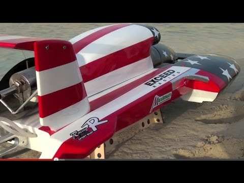 I hate Gasoline RC Boats Sooner or Later you'll end-up Swimming