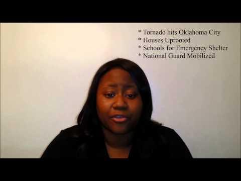 Fema Director Tonia Patterson HCA 415 Community and Public Health- Tornado Scenario