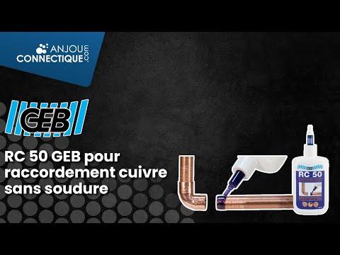 RC 50 GEB pour un raccordement cuivre sans soudure !