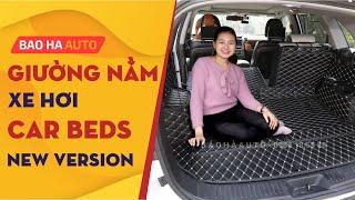 Lót cốp da cao cấp - giường nằm di động phiên bản xe hơi