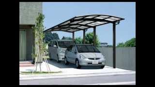 Garajes de madera pergomadera 2011 viyoutube for Garajes con techos policarbonato