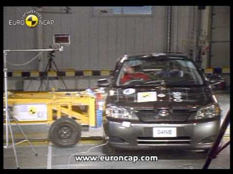 Euro NCAP   Toyota Corolla   2002   Crash test