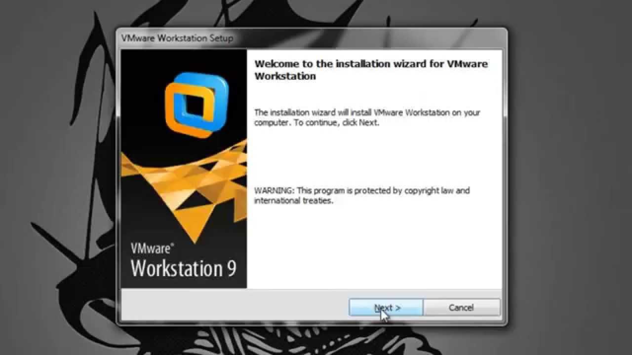 Установка, активация и русификация VMware Workstation 8.avi.