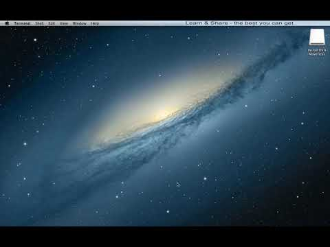 Clean Install OS X Mavericks  (USB Flash Drive Installation)