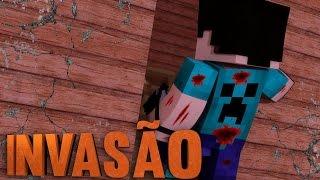 Minecraft 10 INVADINDO A CASA! THE WALKING CRAFT 3Z TEMP