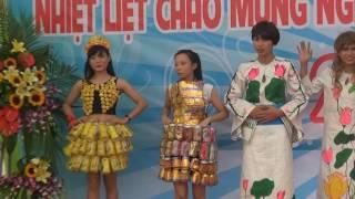 Trình diễn thời trang Môi Trường Xanh Công ty TIC ngày nhà giáo Việt Nam 20-11-2016