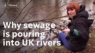 900,000 hours of human sewage and rainwater flow into UK rivers in just one year - revealed