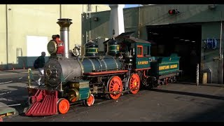 Behind the scenes at the Disneyland Railroad