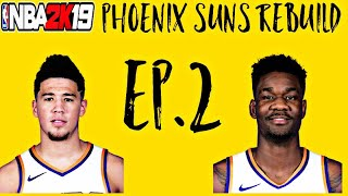 Rebuilding the Pheonix Suns- LeBron and the Lakers- ep. 2
