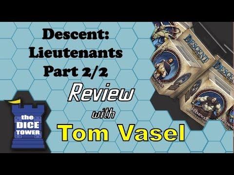 Descent 2nd. Edition - Lieutenants, Part 2/2