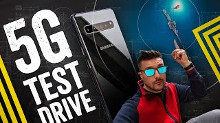 A Day On A 5G Phone: Fast, But Finicky