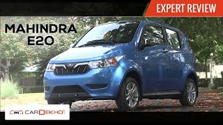 Mahindra e2o Plus | Expert Review | CarDekho