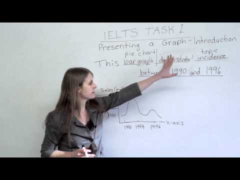 IELTS - How to get a high score on Task 1 of the IELTS