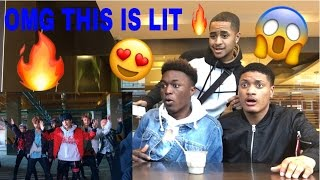 STUDENTS REACT TO BTS-Not Today Mv IN  MCDONALDS