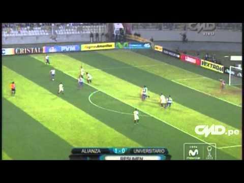 Resumen: Alianza Lima 1-0 Universitario (Copa Movistar Torneo Clausura)