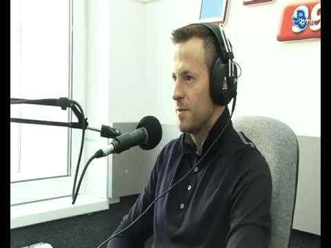 """Андрей Каряка в эфире радио """"Нижний Новгород"""" (99,5 FM)."""