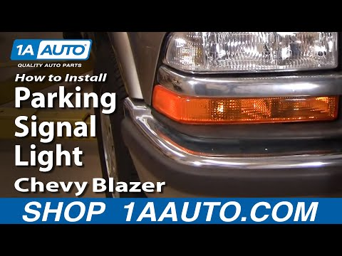 How To Install Replace Parking Signal Light Chevy S10 Blazer 98-05 1AAuto.com