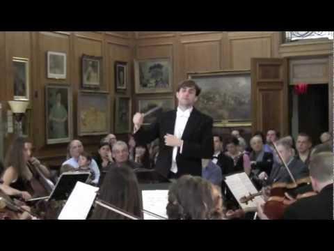 Richard Owen (excerpts): Piccini-Overture, Penderecki-3 Baroque Pieces, Schubert-Sym.No.5