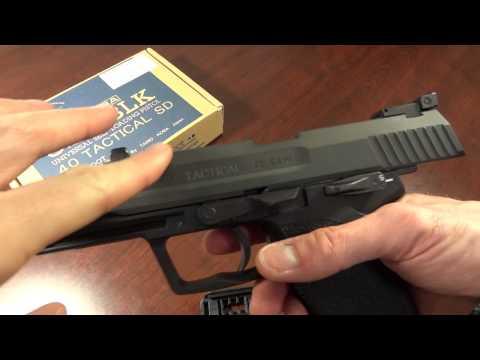 Tanio Koba USP .40 S&W Tactical airsoft pistol