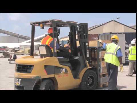 Barbados Port Inc training (by Caribbean Maritime Institute) under CBTF
