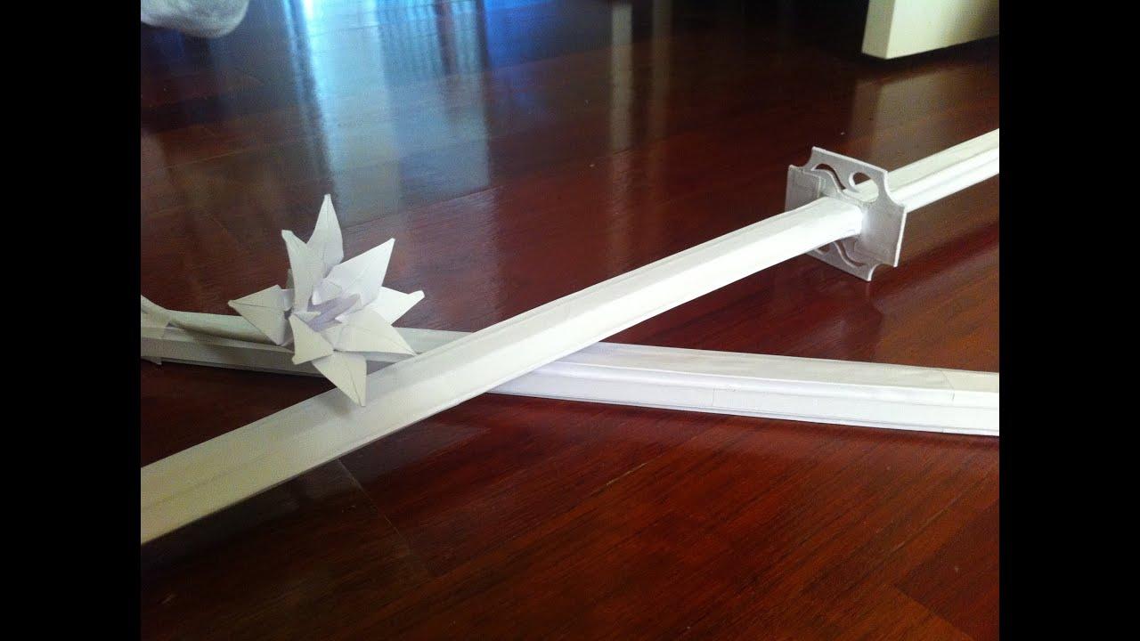 Бумажные мечи своими руками 920