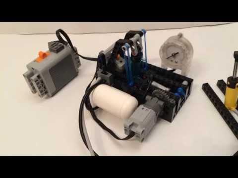 Lego pneumatic compressor (automatic)