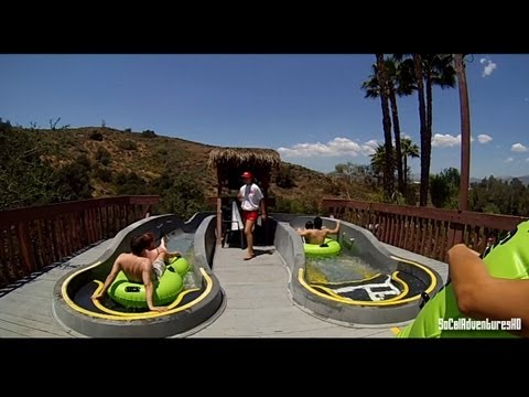[HD POV] Dark Hole Water Slide - POV Water Slide - Water Park - Raging Water